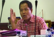 Saifudin zuhri Ketua Fraksi PDI P DPRD Surabaya
