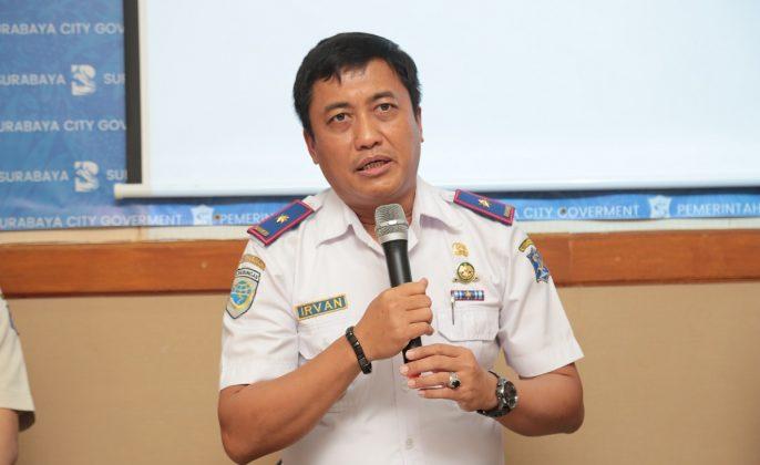 Kadishub Surabaya Irvan Wahyudrajad