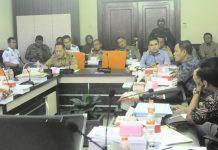 Hearing warga banjarsugihan bersama pihak Pemkot dan komisi A