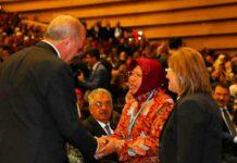 Wali Kota Risma saat bertemu presiden erdogan