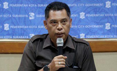 Kepala Satpol PP Kota Surabaya Edi Cristianto