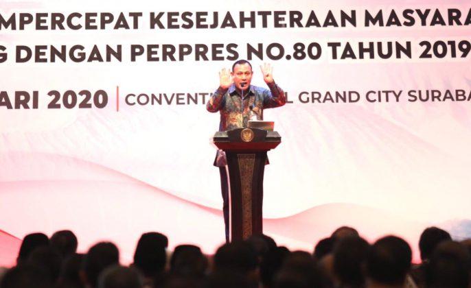 Ketua Komisi Pemberantasan Korupsi (KPK) Firly Bahuri