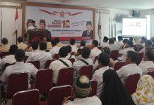 Peringatan HUT Gerindra dikantor DPW Gerindra Jatim minggu (09/08)