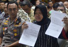 Wali Kota risma bersama Kapolrestabes saat jumpa pers (2)