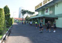 Olahraga Bersama- Penerapan Sosial Distancing disetiap kegiatan