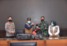 Penyaluran Bantuan APD dan Masker
