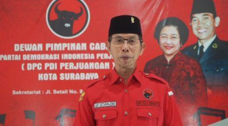 Adi sutarwijono ketua DPC PDI Surabaya