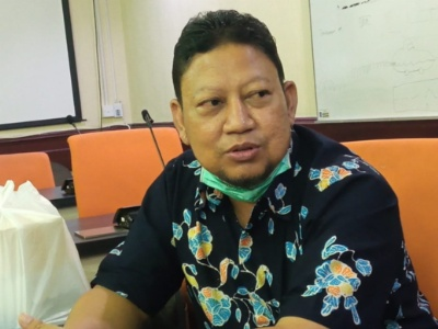Anggota Komisi B DPRD Surabaya, Hamka Mudjiadi Salam