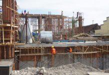 Progres Pembangunan Pintu air Petekan